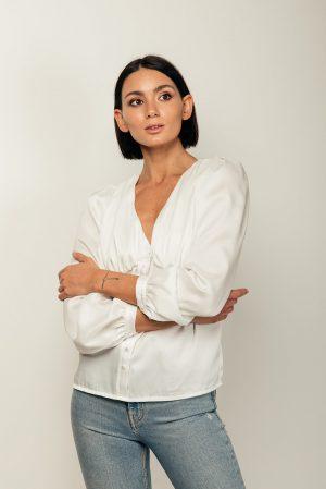 Ann blouse – blusa bianca