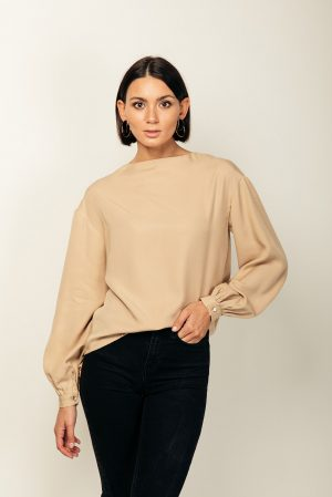Christina blouse – blusa in tencel