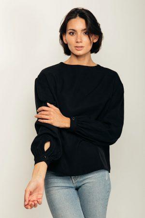 Christina blouse – blusa in tencel