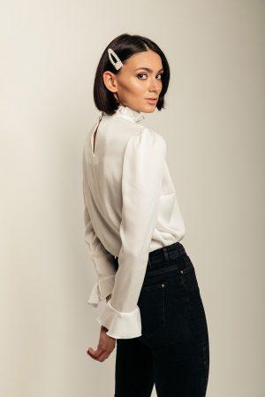 Dany blouse – blusa bianca