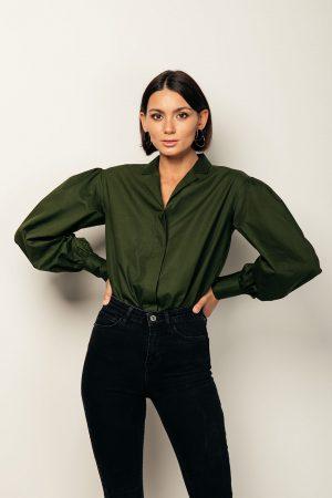 Helen shirt – camicia in cotone organico