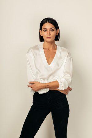 Manu blouse – blusa bianca