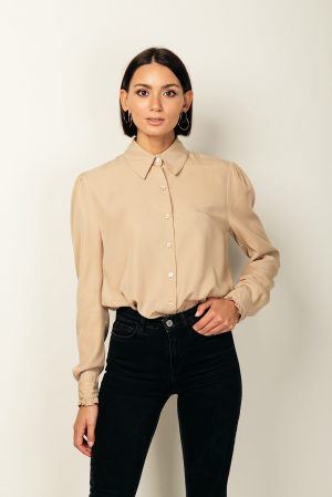 Nicole shirt – camicia in tencel