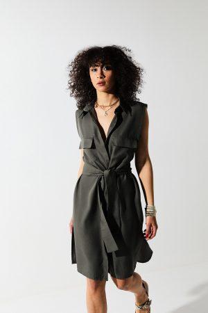 Sonoran dress – abito giromanica Tencel